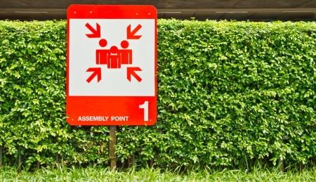 assembly point: Assembly point