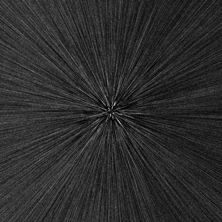 Radial abstract background. Black and white illustration  illustration
