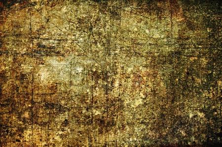 抽象的なグランジ背景: 傷、汚れ、さびやスポット