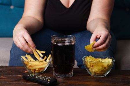 overeating, sedentary lifestyle, bad habits