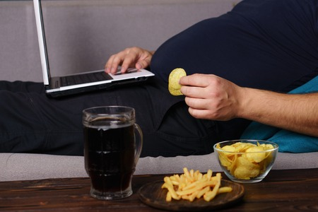Mindless snacking, overeating, lack of physical activity