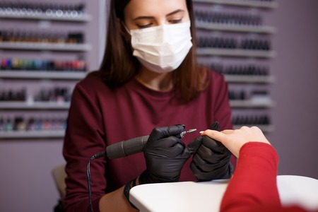 professional nail care, manicure, beauty service