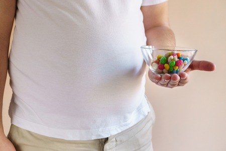 Fattening food, high-calorie snack. Stok Fotoğraf