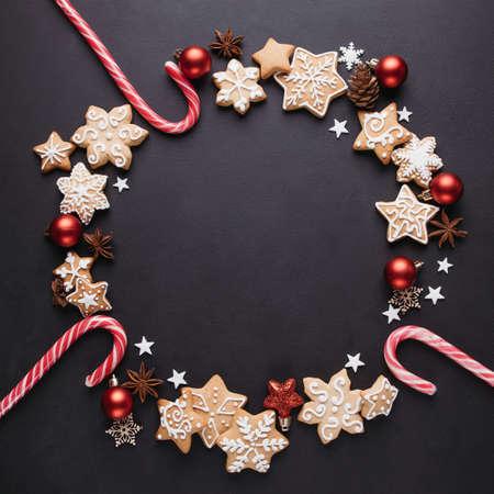Christmas background, greeting card mockup Imagens