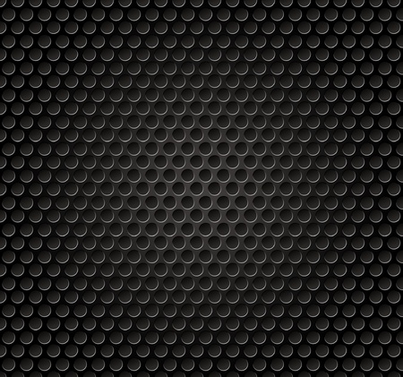 Vector illutration of speaker metal grille. Vector