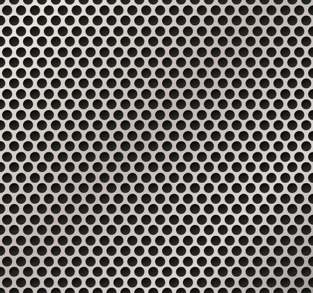 Vector illutration of speaker metal grille.