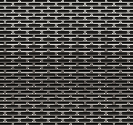 Vector illutration of metal grille.