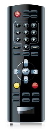 Vector of realistic looking remote control. Vector