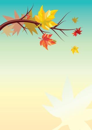 gust: Autumn background