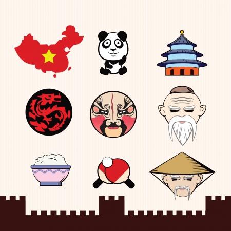 mapa china: S�mbolos chinos # 1