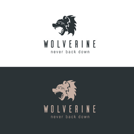 Wolverine Logo Illustration