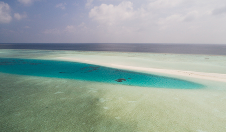 Wonderful colors of Indian ocean, Maldives