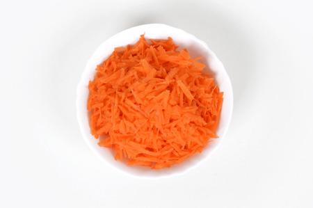 Sliced carrots Stock Photo