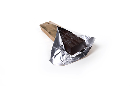 Chocolate in foil photo