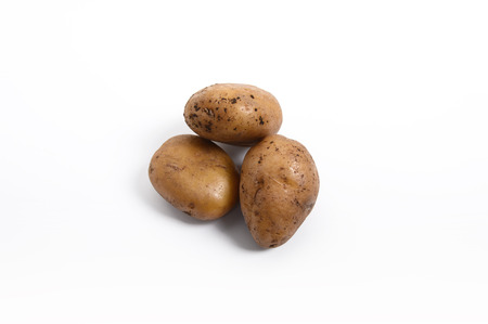 A bunch of potatoes