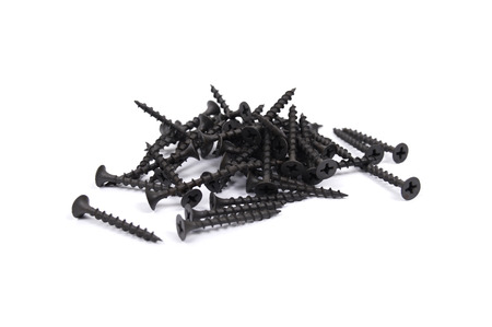 Screws for wood Stock Photo