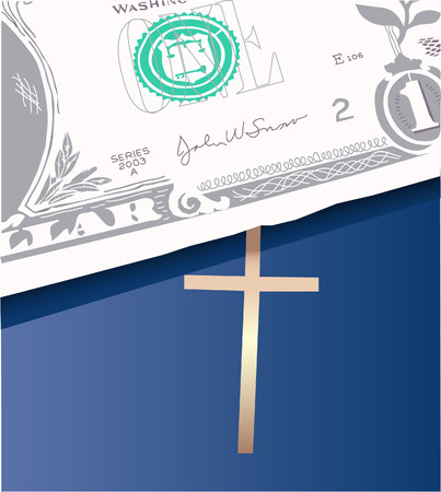 precedence: money on bible
