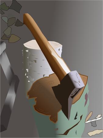 axe Illustration