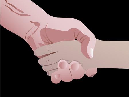 handshake Illustration