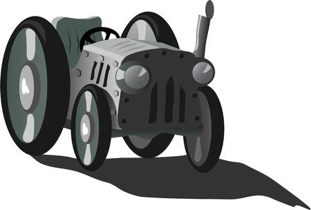 tractor Stock Vector - 7560930