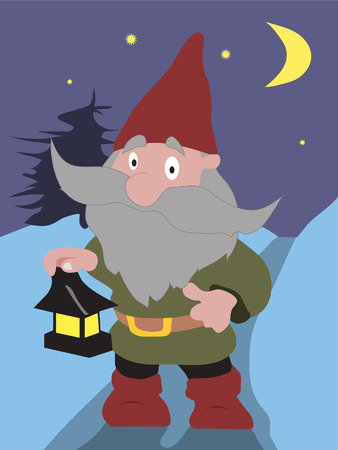 gnome Stock Vector - 7855438