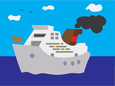 ferry: cruise ship