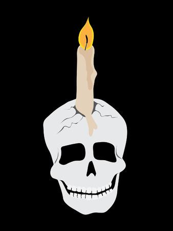 spiritless: skull candle