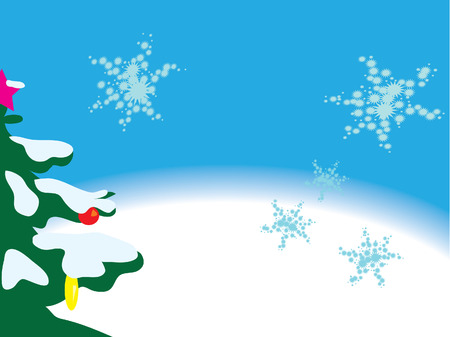 christmas background Stock Vector - 8058609