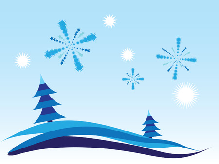 christmas background Stock Vector - 8058608