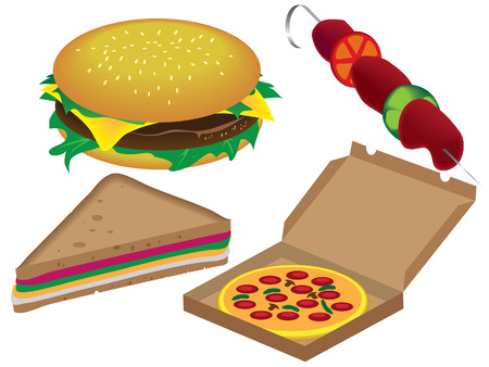 fastfood Stock Vector - 8197967