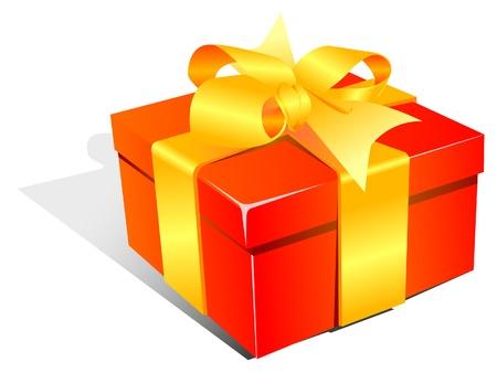 gift box Stock Vector - 8423778