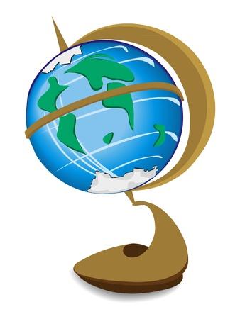 globus Ilustracja