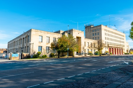 magistrates: Northampton Fire Station and Magistrates Court building