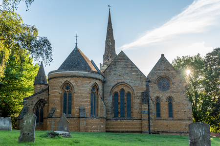 The Church of the Holy Sepulchre Northampton England.