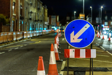 UK Road Services Roadworks Cones and Signs