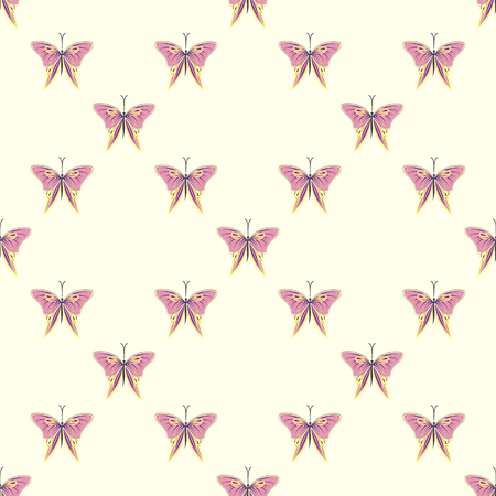 butterfly background: seamless butterfly background Illustration