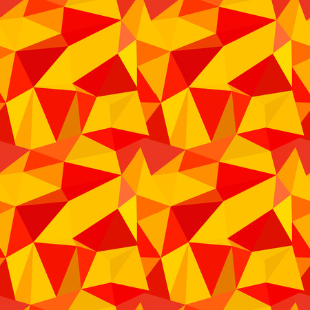 vitrage: Seamless vector pattern. Abstract background with colorful triangles.