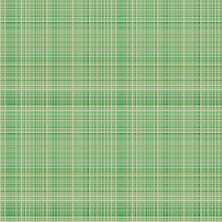 Vector seamless. sfondo a scacchi pastello nei colori verde, tessuto campioni swatch texture della tela di lino. Serie di Seamless texture.