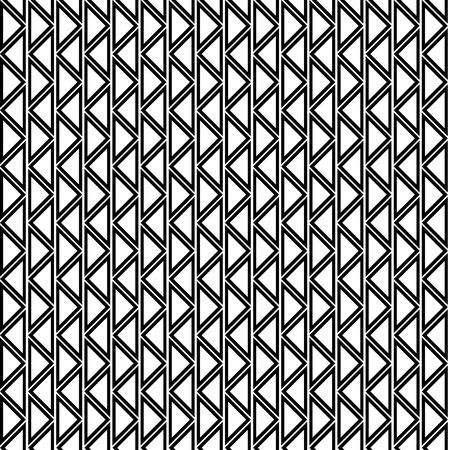 Seamless Vector Geometric Pattern Black And White Background Simple Free Vector Geometric Patterns