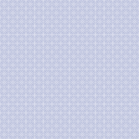 Seamless vector geometric pattern. Blue pastel background with decorative ornament . Series of Decorative and Ornamental Seamless Patterns. Illustration