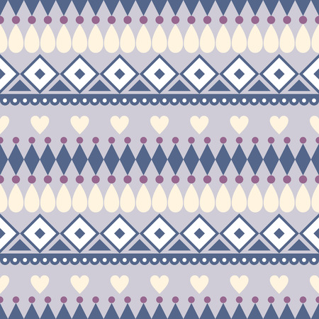 etnic: Seamless vector pattern.  Traditional ethno background in blue colors. Series of National, Folk, Ethnic and Traditional Seamless Patterns.