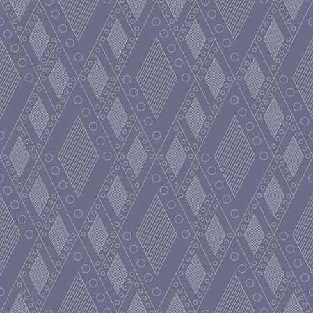 etno: Vector decorative ornamental geometric pastel background with rhombus in blue colors. Series of Seamless Geometrical Ornamental Patterns. Illustration