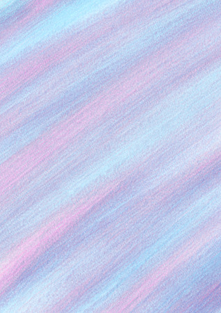 inc: Pastel abstract drawn background with brushstrokes in blue, pink and violet colors. A4 size format. Series of Watercolor, Oil, Pastel, Chalk and Inc Backgrounds. Stock Photo