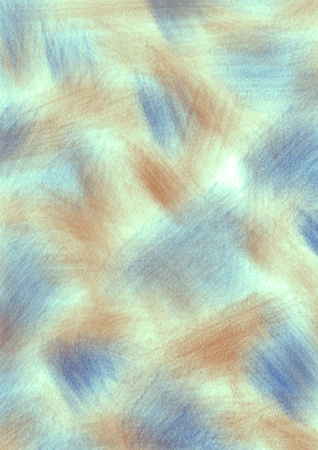 inc: Abstract drawn textured background with brushstrokes in blue and brown colors. A4 size format.  Series of Watercolor, Oil, Pastel and Inc Backgrounds.