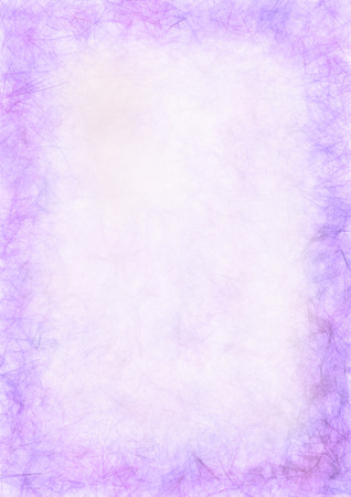 inc: Pastel drawn textured violet background. Crumpled paper. Blank for letter or greeting card. A4 size format. Series of Watercolor, Oil, Pastel, Chalk, Inc Backgrounds and Cards, Blanks and Forms.
