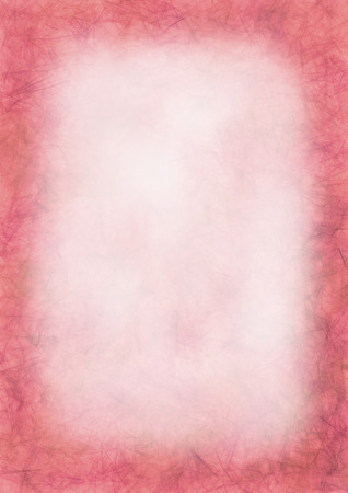 inc: Pastel drawn pink textured background.Crumpled paper.Blank for letter or greeting card. A4 size format. Series of Watercolor, Oil, Pastel, Chalk, Inc Backgrounds and Cards, Blanks and Forms.