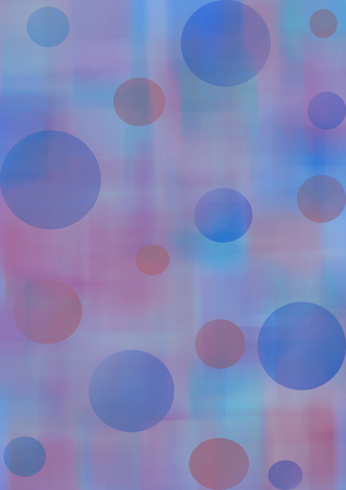 inc: Pastel watercolor abstract background with circles in blue and violet colors. A4 size format. Series of Watercolor, Oil, Pastel, Chalk and Inc Backgrounds.