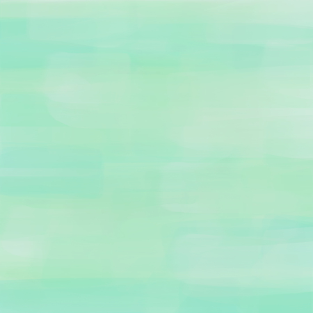 mono color: Pastel background with brushstrokes in turquoise colors.