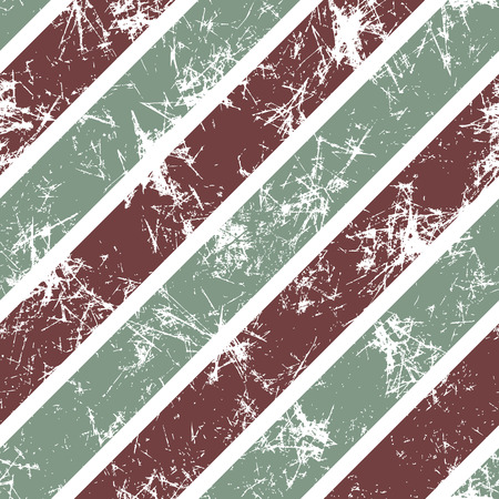 attrition: Seamless vector pattern. Creative geometric pastel background with brown and grey diagonal stripes. Texture with attrition, cracks and ambrosia. Old style vintage design. Graphic illustration.
