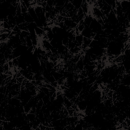 attrition: Seamless vector texture. Grunge black background with attrition, cracks and ambrosia. Old style vintage design. Graphic illustration.